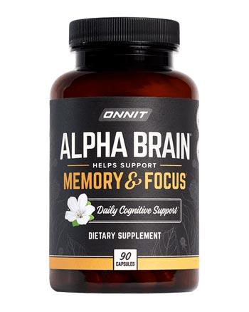 Alpha Brain bottle